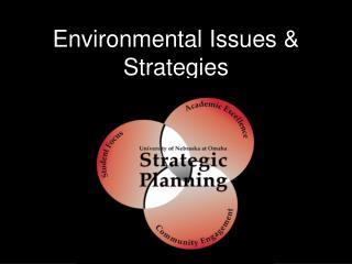 Environmental Issues & Strategies