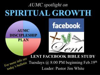 AUMC spotlight on SPIRITUAL GROWTH