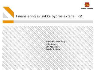 Finansiering av sykkelbyprosjektene i RØ