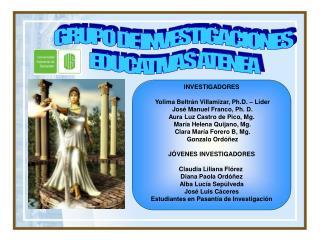 GRUPO DE INVESTIGACIONES  EDUCATIVAS ATENEA