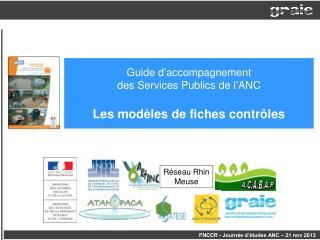 Guide d'accompagnement  des Services Publics de l'ANC Les modèles de fiches contrôles