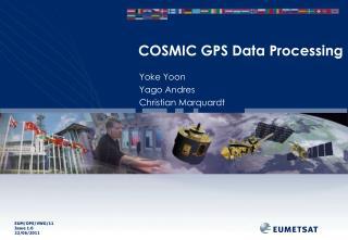 COSMIC GPS Data Processing