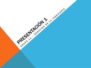 Presentaci�n 1