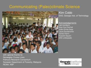 Communicating Paleoclimate Science