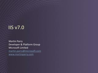 IIS v7.0