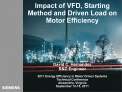 Impact of VFD, Starting Method and Driven Load on Motor Efficiency       David C. Hernandez RD Engineer  2011 Energy Eff