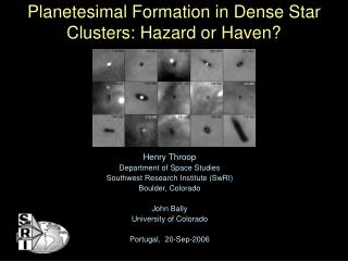 Planetesimal Formation in Dense Star Clusters: Hazard or Haven?