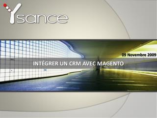 Int�grer un CRM avec  Magento
