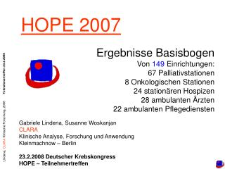 HOPE 2007