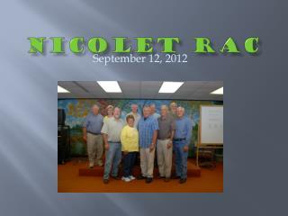 Nicolet RAC