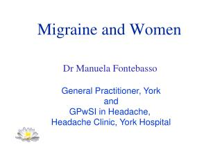 Migraine and Women