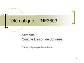 T�l�matique � INF3803