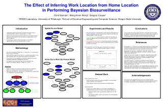 The Effect of Inferring Work Location from Home Location  in Performing Bayesian Biosurveillance