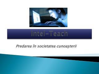 Intel-Teach