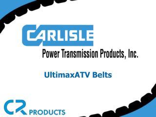 UltimaxATV Belts