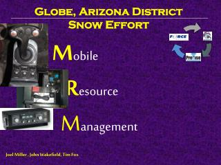 Globe, Arizona District Snow Effort