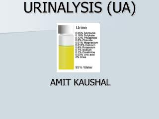 URINALYSIS (UA)