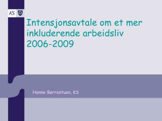 Hanne Børrestuen, KS