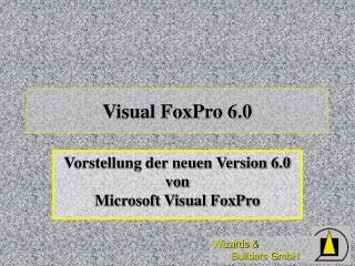Visual FoxPro 6.0