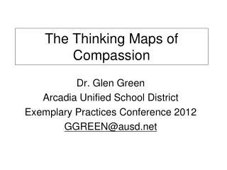 The Thinking Maps of Compassion