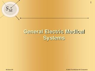 General Electric Medical Systems
