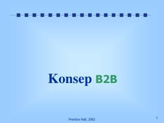 Konsep  B2B