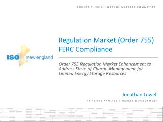 August 5, 2014 | NEPOOL markets committee