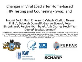 Changes in Viral Load after Home-based HIV Testing and Counseling - Swaziland