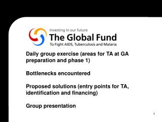 Global Fund Governance Structures
