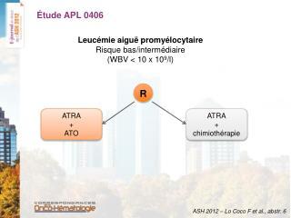 Étude APL 0406
