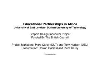 Graphic Design Incubator Project -