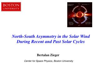 North-South Asymmetry in the Solar Wind  During Recent and Past Solar Cycles