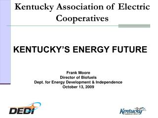 KENTUCKY'S ENERGY FUTURE