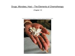 Drugs, Microbes, Host   The Elements of Chemotherapy