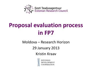 Proposal evaluation process  in FP7