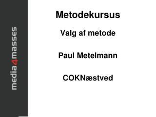 Metodekursus