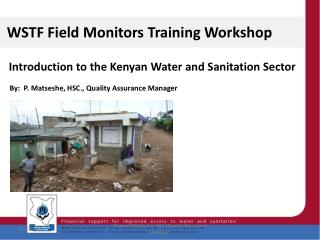 WSTF Field Monitors Training Workshop