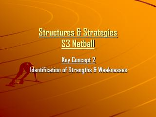Structures & Strategies S3 Netball