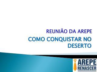 REUNI�O DA AREPE