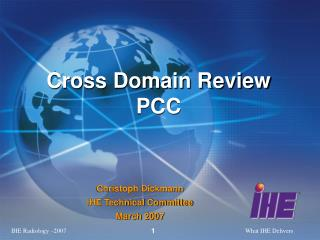 Cross Domain Review   PCC