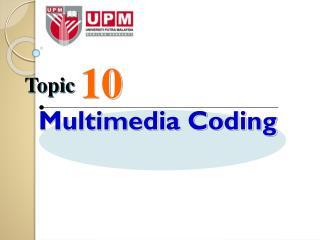 Multimedia Coding