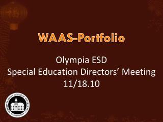 WAAS-Portfolio