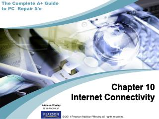 Chapter 10 Internet Connectivity