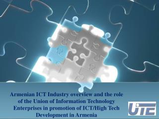 ICT Industry Development in Armenia: