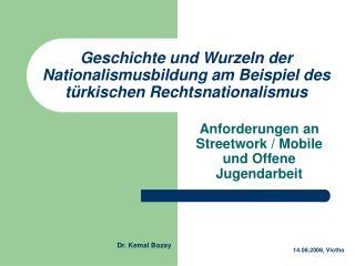 Geschichte und Wurzeln der Nationalismusbildung am Beispiel des türkischen Rechtsnationalismus