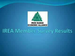 IREA Member Survey Results