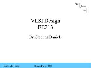 VLSI Design EE213