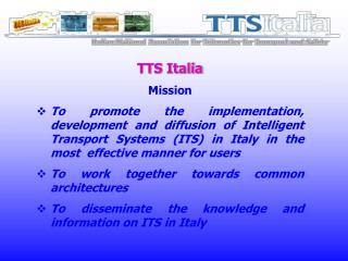 TTS Italia Mission