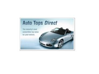 Auto Tops Direct - The Industry's Best Convertible Top Value