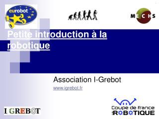 Petite introduction à la robotique